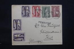 BELGIQUE - Enveloppe De Ostende Pour Kiel En 1929, Affranchissement Plaisant Orval - L 43615 - Belgique