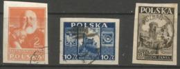 Poland - 1947 Imperforates Used - 1944-.... Republic