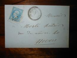 Enveloppe GC 867 Champlemy Nievre - Marcophilie (Lettres)