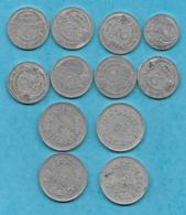 France. Lot De 12 Pièces Des Années 1946 à 1957. Envoi France 1,90 €. . - France