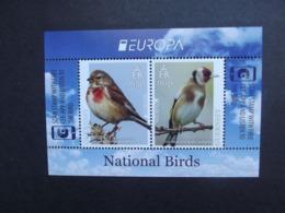 Guernsey    BL   Europa  Cept   Nationale Vögel   2019    ** - 2019