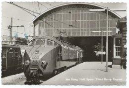 Den Haag Station Hollands Spoor HS Trans Europe Express TEE Gare Bahnhof Train Trein Spoorweg Railway Eisenbahn 1969 - Den Haag ('s-Gravenhage)