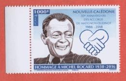W34 Calédonie 2018 °° Michel Rocard - Unused Stamps