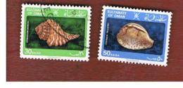 OMAN  - SG 263.265  -  1982  SHELLS      -  USED ° - Oman