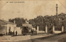 Algérie - ORAN - Faubourg Gambetta - Oran