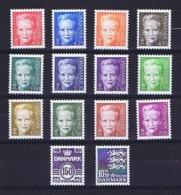 Denmark 2000-2002;  14 Definitives;  MNH (**) - Lotes & Colecciones