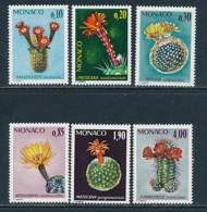 MONACO Mi. Nr. 1154-1159 Seltene Pflanzen Des Botanischen Gartens- Siehe -scan - MNH - Sukkulenten