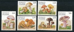 MONACO Mi. Nr. 1861-1866 Pilze Aus Dem Mercantour-Nationalpark- Siehe -scan - MNH - Pilze