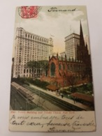 CPA NEW YORK TRINITY BUILDING AND TRINITY CHURCH - Manhattan