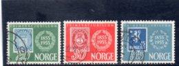 NORVEGE 1955 O - Usati