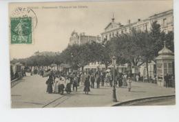 ROYAN - Promenade Thiers Et Les Hôtels - Royan
