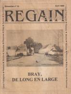 Regain Binchois/ Bimestriel N° 19 - Avril 1998 (Bray, De Long En Large) - Toerisme En Regio's