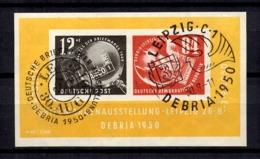 Allemagne/RDA Bloc-feuillet YT N° 1 Oblitéré. B/TB. A Saisir! - [6] Oost-Duitsland