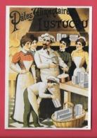 CPM UN SIECLE DE RECLAMES ALIMENTAIRES.Gastronomie.Pates LUSTUCRU 1920  Cuisine. - Advertising