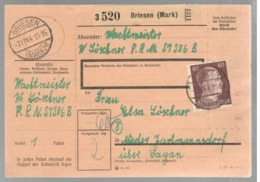 23040 - DE BRIESEN - Cartas