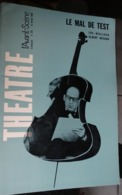 L'avant-scène Théâtre N 351 - Le Mal De Test - Ira Wallach - Albert Husson - Teatro