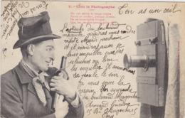 BERGERET Chez Le Photographe ( Alcool , Vin ... ) - Bergeret