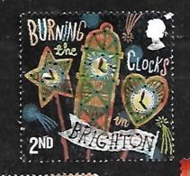 GB 2019 TRADITIONS & CUSTOMS CLOCK BURNING IN BRIGHTON - 1952-.... (Elizabeth II)