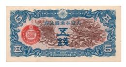 CHINA»5 SEN (MILITARY ISSUES)»1940»P-M9 (WORLD PAPER MONEY)»XF CONDITION - China
