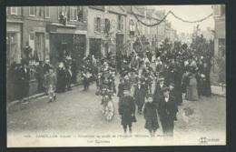N°1426 - Sandillon - Cavalcade Au Profit De L'aviation Militaire, 24/03/1912 , Les Cyclistes   Vab66 - Francia