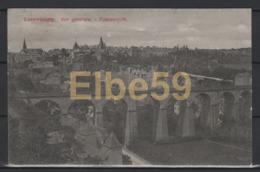 Luxembourg Vue Générale, écrite - Lussemburgo - Città