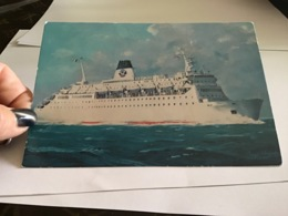 Paquebot Car-ferry Cynos   Société  National Maritime Corse Méditerranée - Paquebots