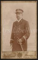 Photo / Cabinet Card / Cabinet Photo / Militair / Soldier / Soldat / Kongo / Congo / Van Crewel / Antwerpen / 2 Scans - Guerre, Militaire