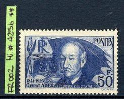 France - Frankreich, 1938, Michel #425b, MNH/postfrisch - Frankreich