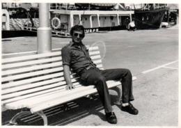 Photo Originale La Vie Du Banc Gay & Playboy Sexy Prenant La Pose Vers 1970. - Anonyme Personen