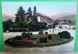 LUINO Piazzale Stazione  Cartolina Viaggiata 1959 Storia Postale Isolato Camillo Prampolini - Luino