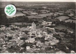 79 - Très Belle Carte Postale Semi Moderne Dentelée De   CELLES SUR BELLE  Vue Aérienne - Celles-sur-Belle