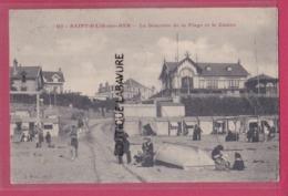 50 - SAINT PAIR SUR MER---La Descente De La Plage Et Le Casino---animé - Saint Pair Sur Mer