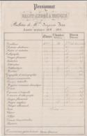 Pensionnat Saint-André à Bruges, Bulletin 1918, Belgique. - Diplômes & Bulletins Scolaires