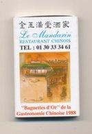 LE MANDARIN - Boites D'allumettes