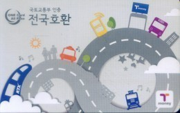 South Korea Transport Cards, (1pcs) - Korea (Zuid)
