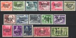 1950  Yvert Nº 338 / 353   MH - Dienstzegels