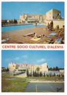 66 Elne Centre Socio Culturel ALENYA Piscine Bronzage Terrain De Hand En 1976 - Elne