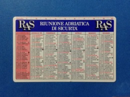 1994 CALENDARIETTO CALENDARIO RAS RIUNIONE ADRIATICA DI SICURTA' - Calendari