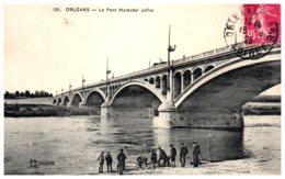 45 ORLEANS - Le Pont Maréchal Joffre - Orleans