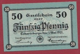 Allemagne 1 Notgeld De 50 Pfenning Stadt Eckartsberga (RARE) Dans L 'état N °4788 - Collections
