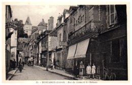 45 MONTARGIS - Rue Du Loing Et Le Château - Montargis