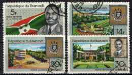 BURUNDI - 1967 - 1° ANNIVERSARIO DELLA REPUBBLICA DEL BURUNDI - USATI - Burundi
