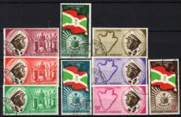 BURUNDI - 1962 - INDIPENDENZA DEL BURUNDI - USATI - Burundi