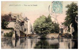 45 MONTARGIS - Vue Sur Le Canal - Montargis