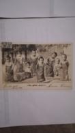 CPA CIRCULEE EN 1905 - NOS GENTILS POUPONS - COURSE EN SAC - Babies