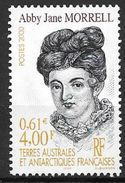 TAAF 2000 N° 285 Neuf Abby Jane Morrell - Nuevos