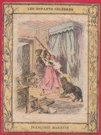 Protége Cahier Ancien Fin XIXéme Collection  Les Enfants Célébres FRANCOISE MARIETTE - Book Covers