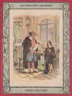 Protége Cahier Ancien Fin XIXéme Collection  Les Enfants Célébres ADRIEN BRAUWER - Book Covers