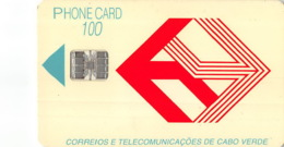 Cap Vert Old Postcard - 100 Puce - Kaapverdische Eilanden