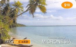Micronesie Old Postcard - $10 - Micronésie